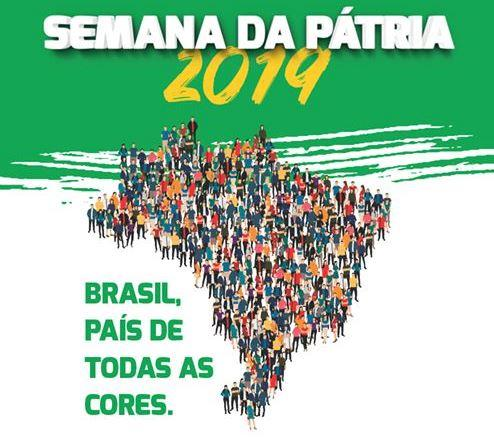 """""""Brasil, País de Todas as Cores"""", é o tema da programação da Semana da Pátria em Alfredo Wagner"""