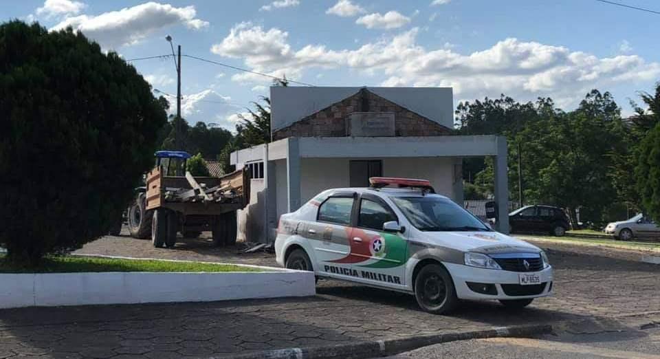 """""""Casinha da Praça"""" se tornará Grupamento da Polícia Militar em Imbuia"""
