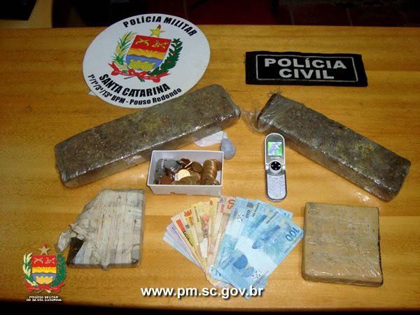 Pouso Redondo: ação conjunta entre Polícia Militar e Polícia Civil resulta em prisão de traficante