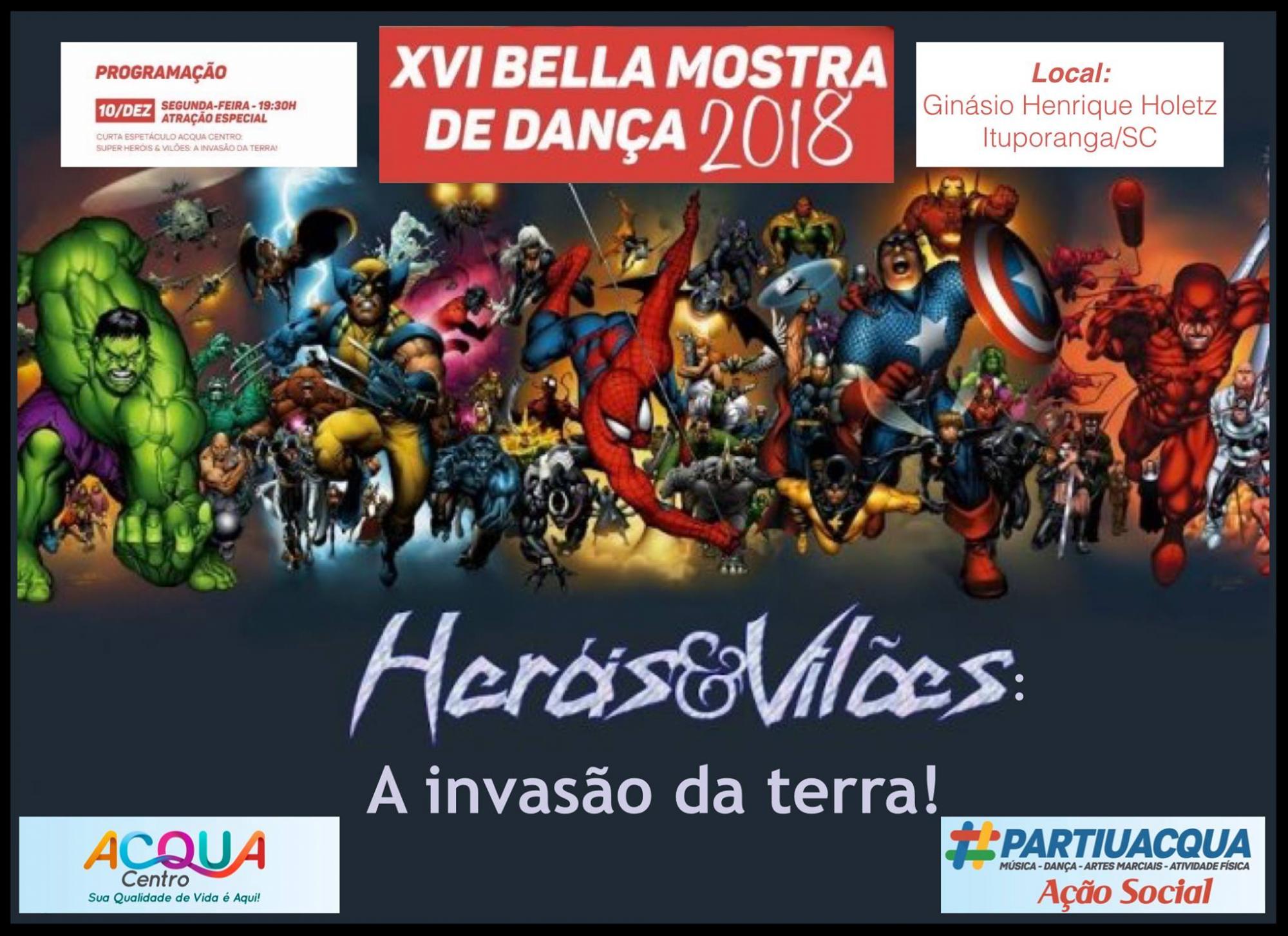 16ª Bella Mostra de Dança será realizada na próxima semana em Ituporanga