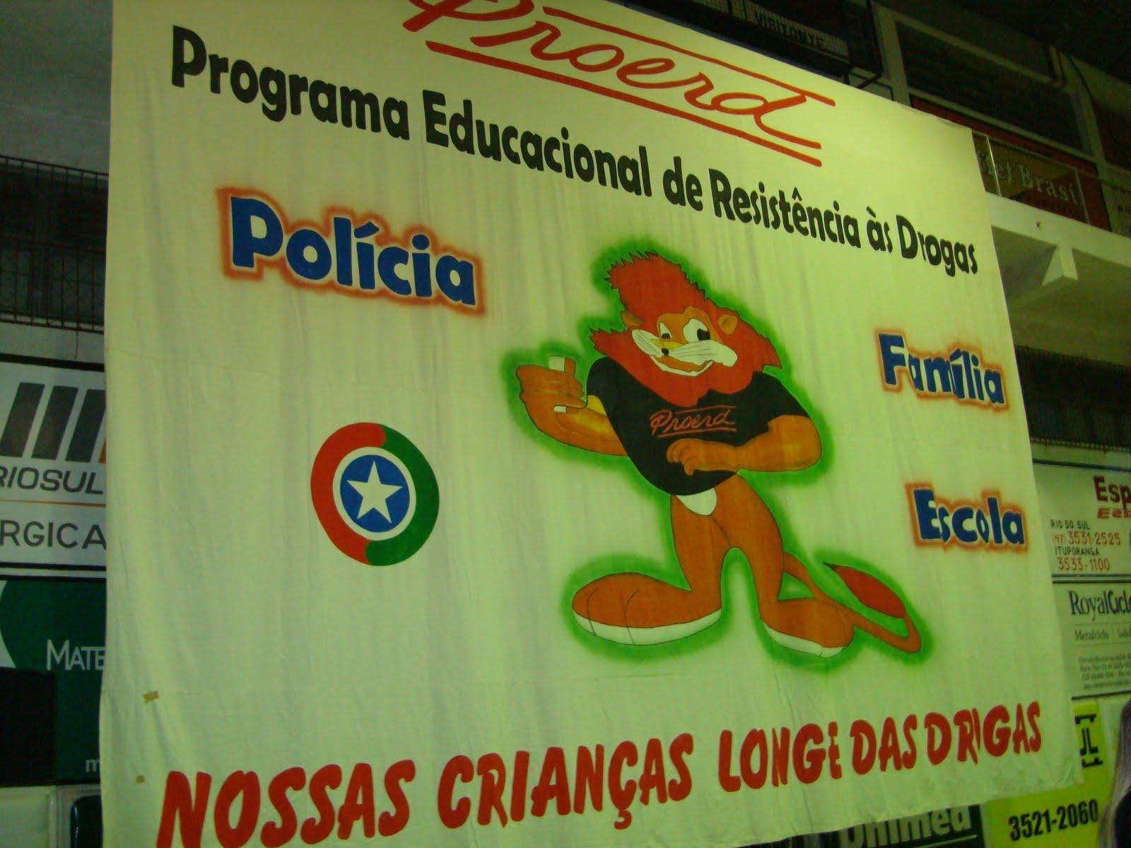 190 crianças participam da formatura do Proerd em Ituporanga