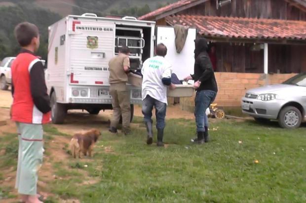 Polícia Civil investiga ossada humana encontrada em área rural de Leoberto Leal
