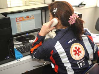 Serviço de ambulâncias de Santa Catarina recebe 7 mil trotes por mês