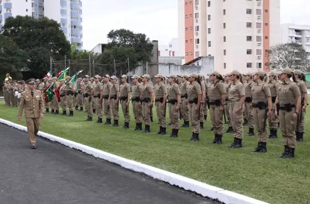 Após cerimônias em três cidades, 202 novas policiais são formadas em SC
