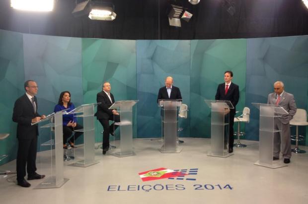 Candidatos ao governo de Santa Catarina participam do primeiro debate eleitoral