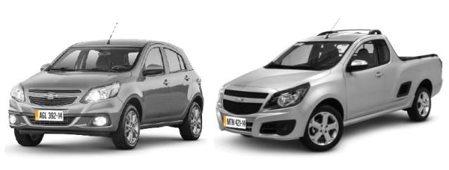 Comunicado de recall aos proprietários dos veículos da marca Chevrolet Agile 2014 e Chevrolet Montana 2014 e 2015