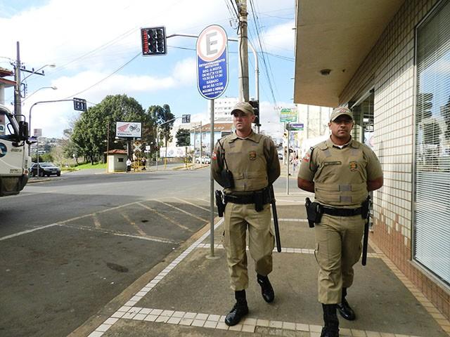 13º Batalhão busca intensificar policiamento nas ruas do Alto Vale