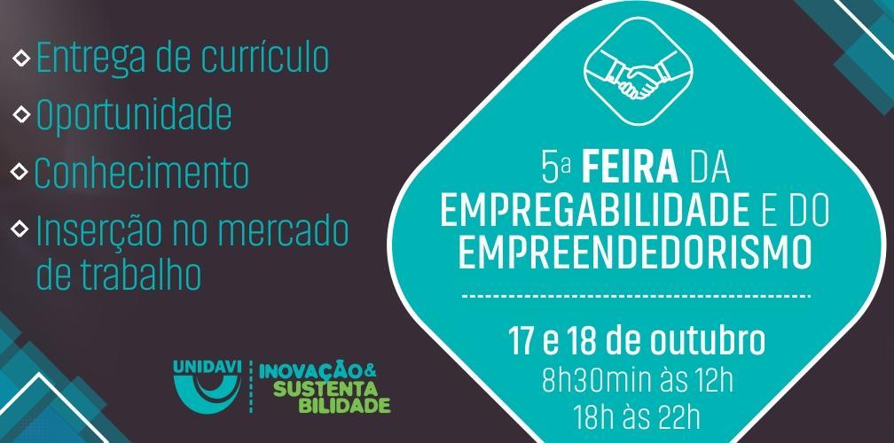 5ª Feira da Empregabilidade e do Empreendedorismo é realizada em Rio do Sul