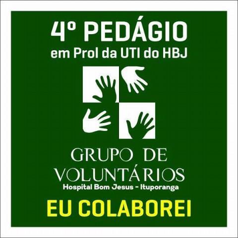 Pedágio Solidário arrecada mais de R$ 47 mil para a UTI do Hospital Bom Jesus