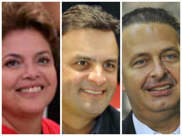Datafolha: Dilma soma 36%, Aécio 20% e Campos 8%