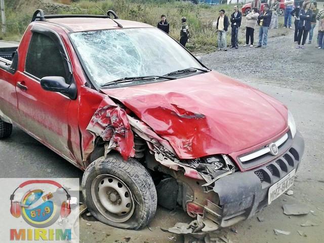 Acidente com vítima fatal em Vidal Ramos
