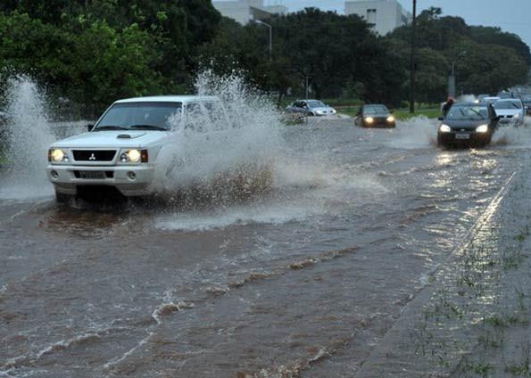 Nasa reconhece chuva de Santa Catarina como segunda maior do mundo