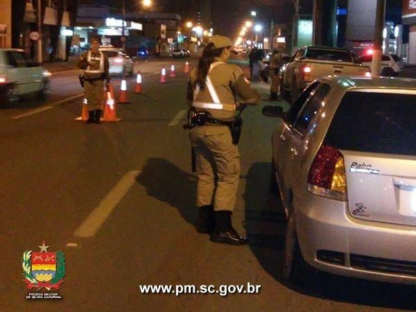 Operações de trânsito se tornam freqüentes no Alto Vale do Itajaí