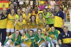 Brasil conquista o Tetracampeonato no Mundial Universitário de Futsal Feminino