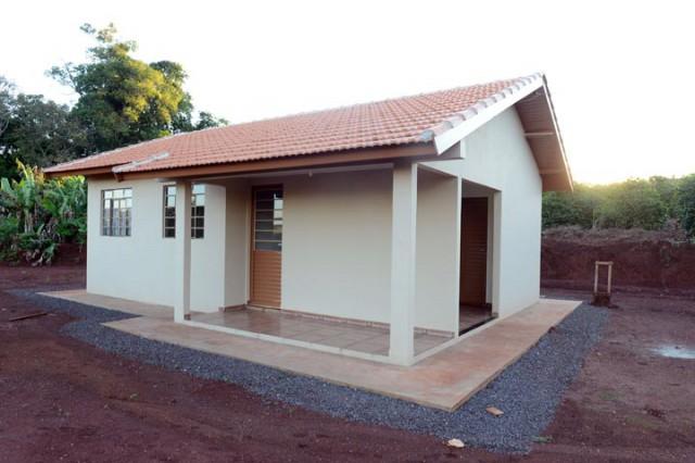 Projeto Minha Casa, Minha Vida já beneficiou 20% das famílias na área rural de Chapadão do Lageado