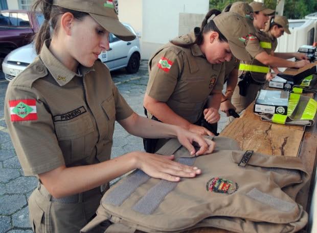 Polícia Militar de SC forma 202 mulheres para o posto de soldado nesta sexta