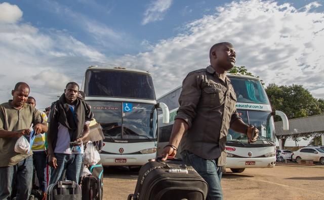 Reunião em Criciúma debate situação de imigrantes haitianos e africanos