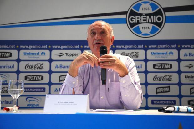 Grêmio oficializa contratação e Felipão será apresentado nesta quarta