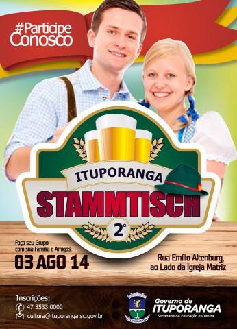 Interessados em participar do Stammtisch em Ituporanga ainda podem se inscrever