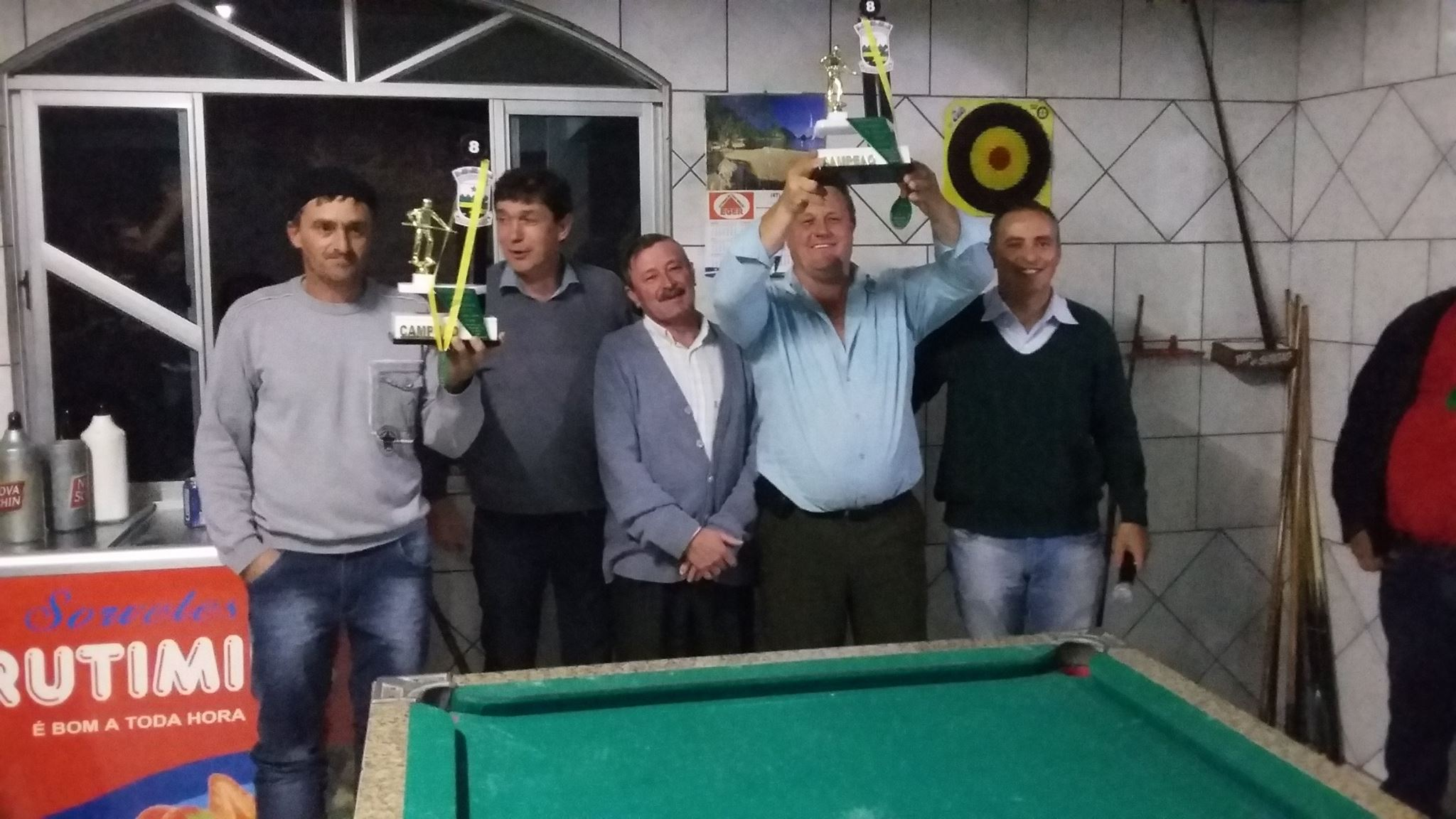 Campeonato Municipal de Sinuca de Petrolândia chega ao fim