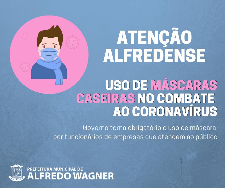 Administração de Alfredo Wagner retoma as atividades de forma gradativa e com medidas de prevenção ao coronavírus
