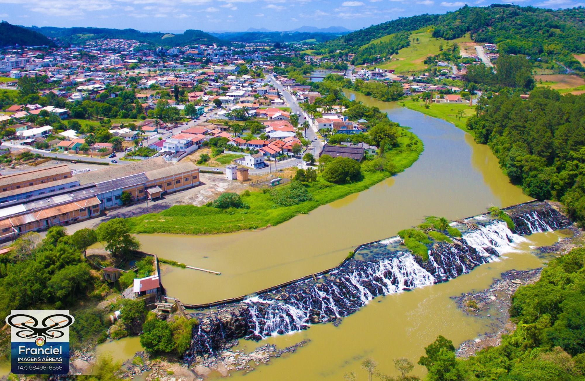 Administração de Ituporanga busca recursos para revitalizar o Salto Grande