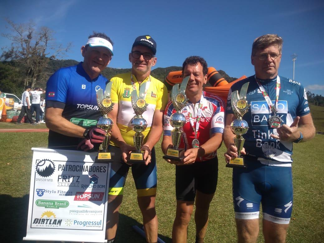 Antônio Knopf Neto é vice-campeão da Volta a Santa Catarina em Mountain Bike