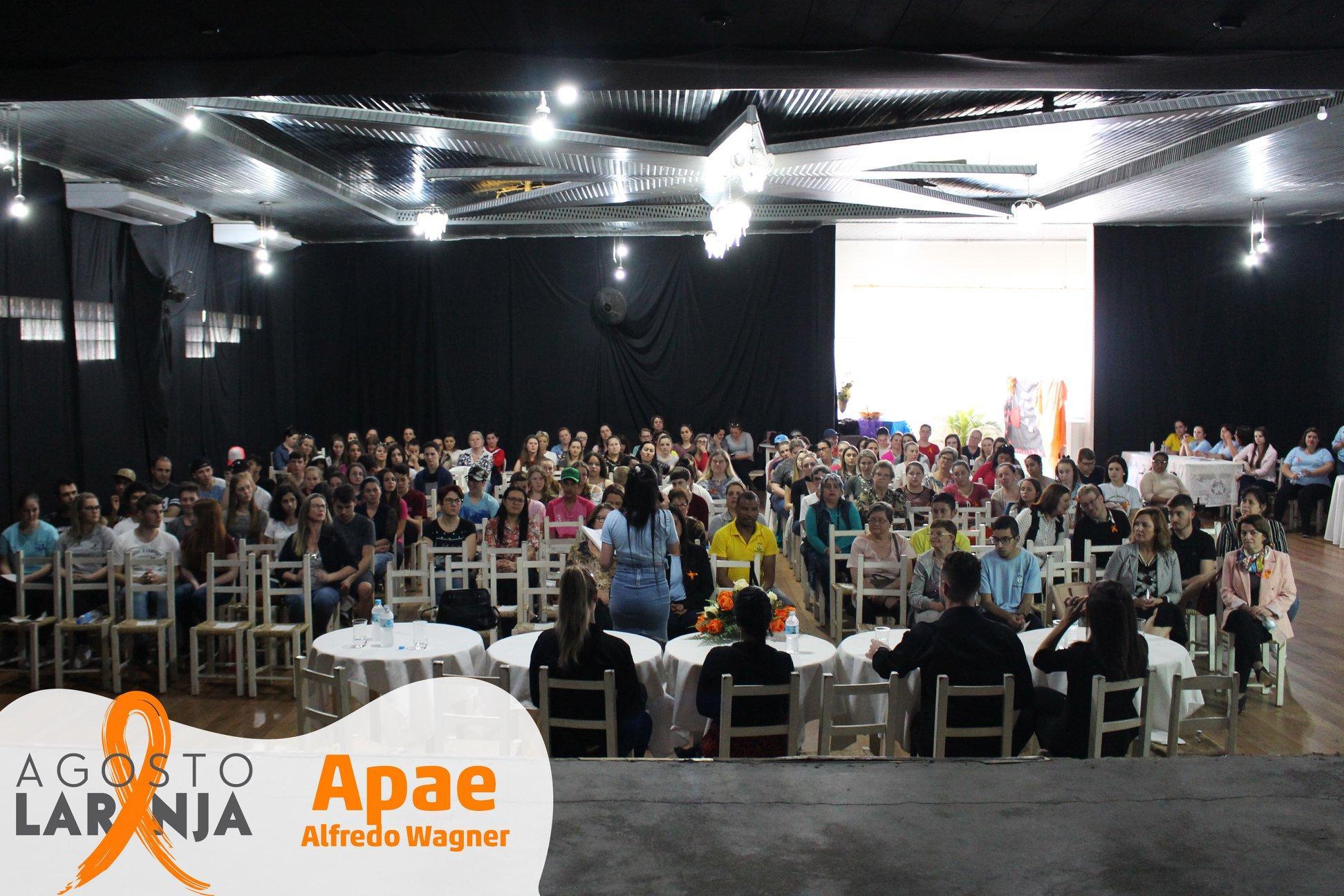 Apae de Alfredo Wagner realiza seminário para discutir formas de prevenção das deficiências