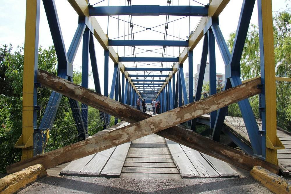 Após foco de incêndio, ponte é interditada para reparos estruturais em Rio do Sul
