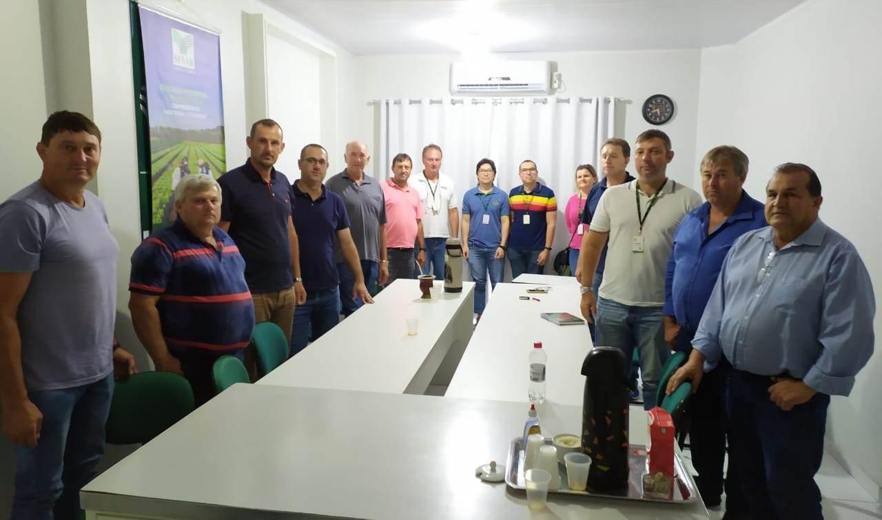 Aprocesc e representantes sindicais se reúnem em Ituporanga