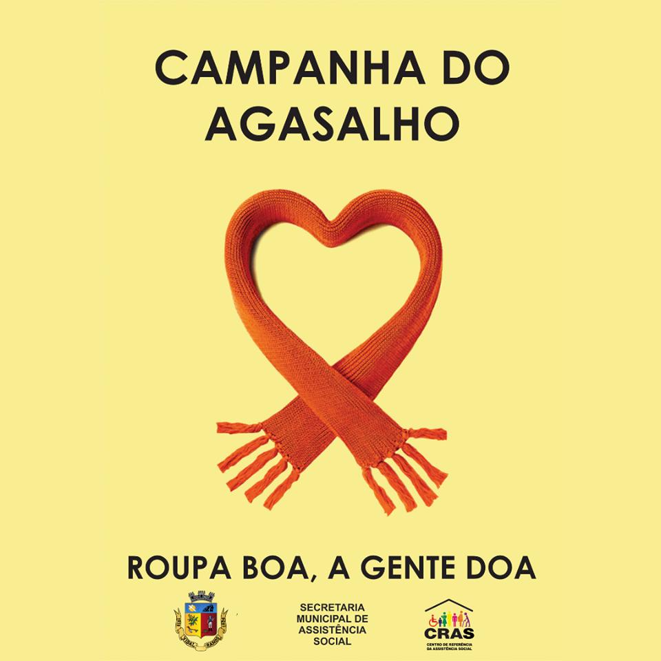 Assistência Social de Vidal Ramos realiza Campanha do Agasalho