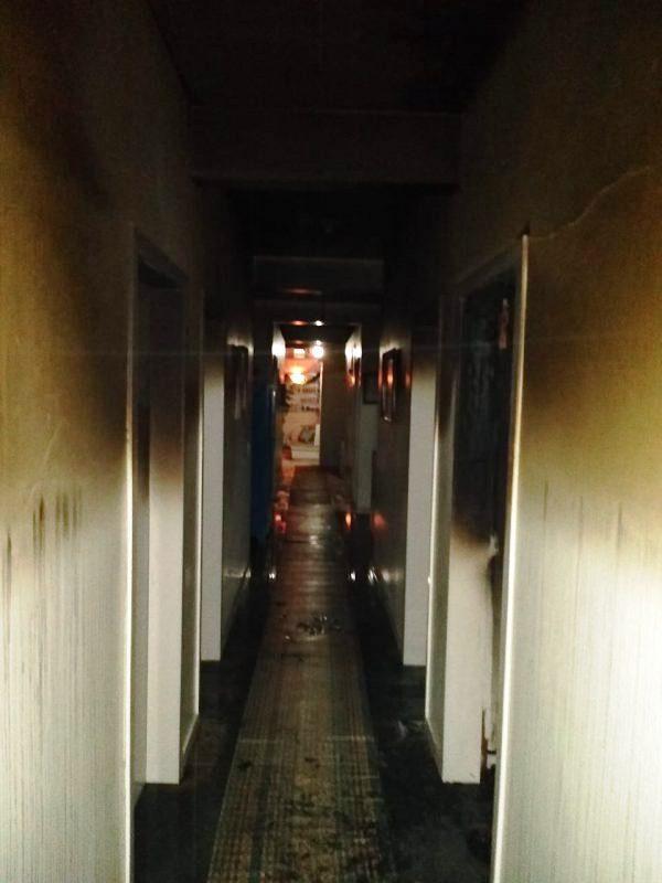 Associação de Acolhimento Albertina Berkenbrock de Vidal Ramos busca reconstrução após incêndio no mês de dezembro