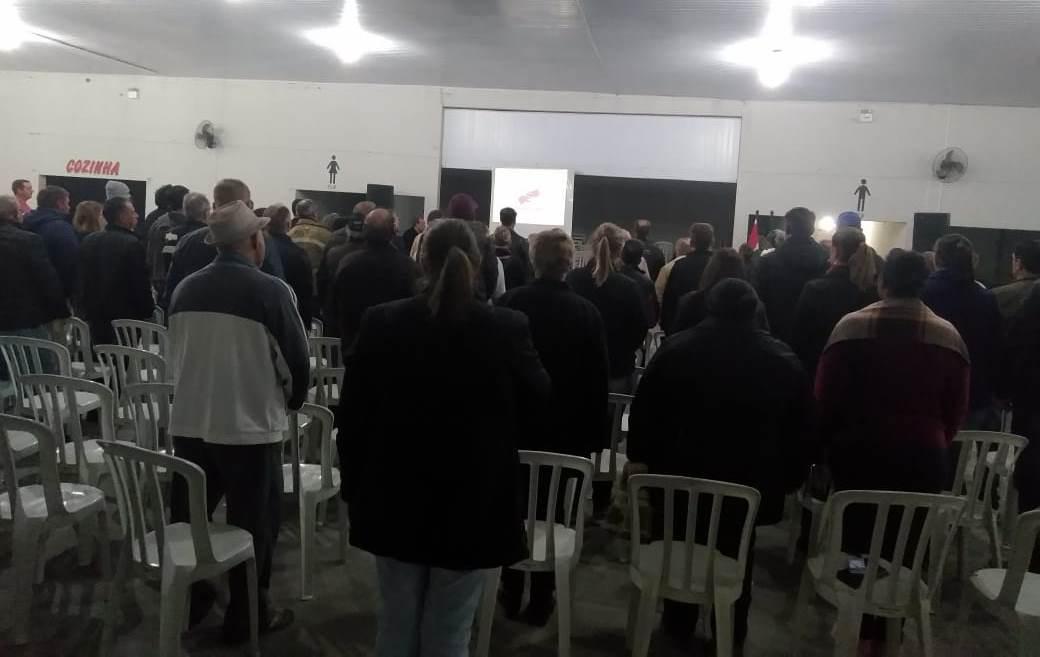 Audiência Pública debate possibilidade de pavimentação de ruas por meio de consórcio no bairro Vila Nova, em Ituporanga