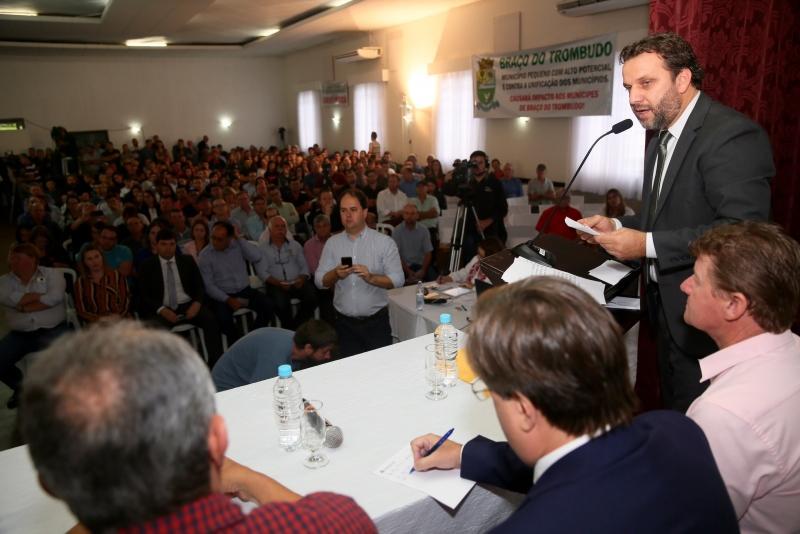 Audiência Pública em Ibirama tranquiliza líderes e moradores de pequenos municípios