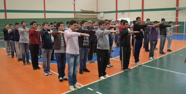 Jovens recebem dispensa do Serviço Militar em Alfredo Wagner