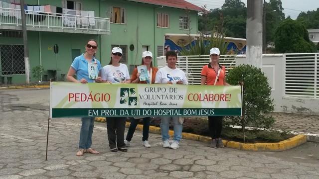 Grupo de Voluntários encerra neste sábado pedágio em Prol da UTI do Hospital Bom Jesus