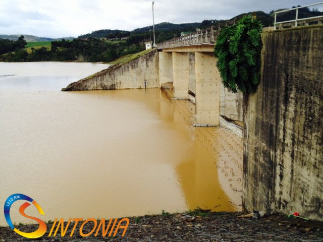 Repórter da Sintonia visita Barragem Sul e atualiza dados desta segunda-feira (30)