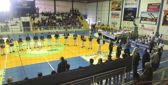 Jogos da integração escolar são realizados em Ituporanga