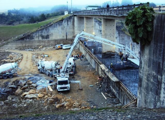 40% das obras da Barragem Sul de Ituporanga estão concluídas