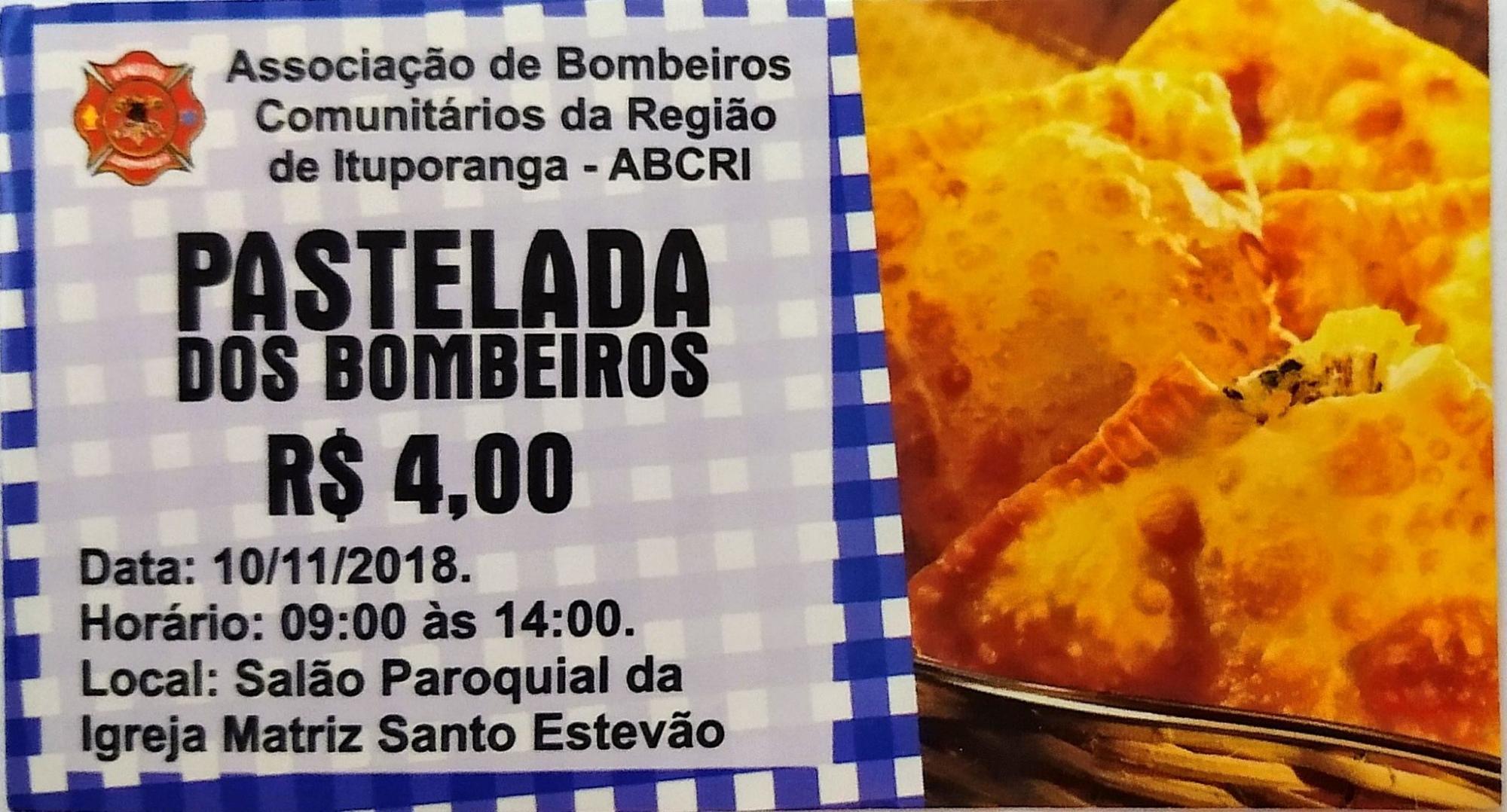 Bombeiros Comunitários de Ituporanga promovem pastelada