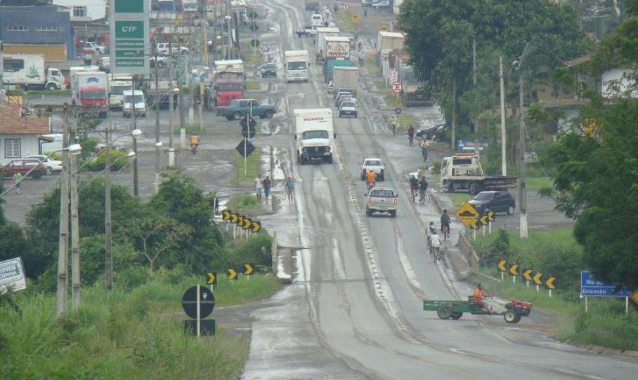 BR470: Viaduto será construído no trecho que atravessa Pouso Redondo