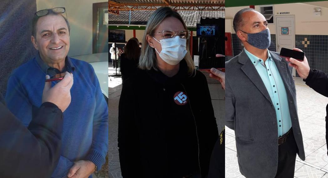 Candidatos agradecem votos e comentam resultado da eleição em Petrolândia
