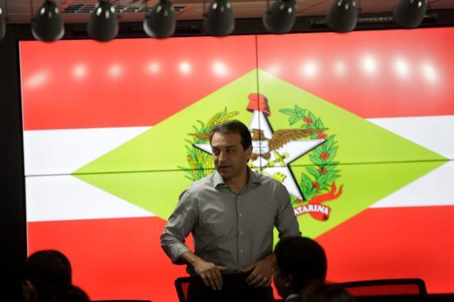 Carlos Moisés (PSL) apresenta nova estrutura do governo de SC