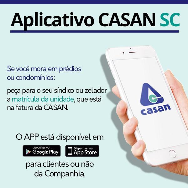 CASAN estimula uso de aplicativo