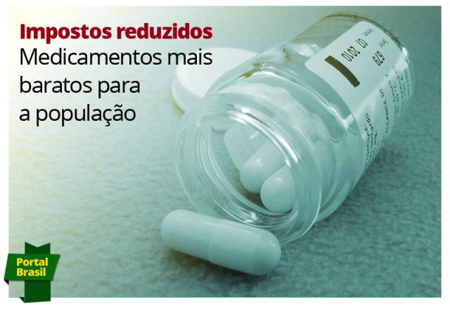 Medicamentos chegam às farmácias 12% mais baratos