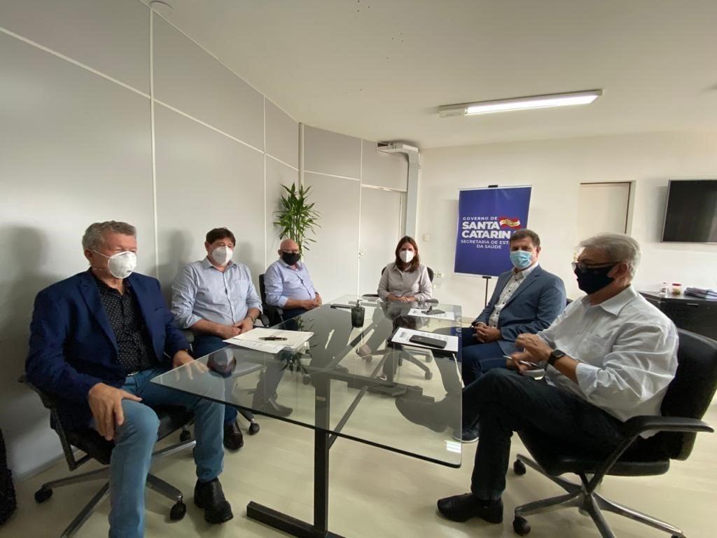 Cinco novos leitos de UTI são habilitados no Hospital Regional Alto Vale de Rio do Sul