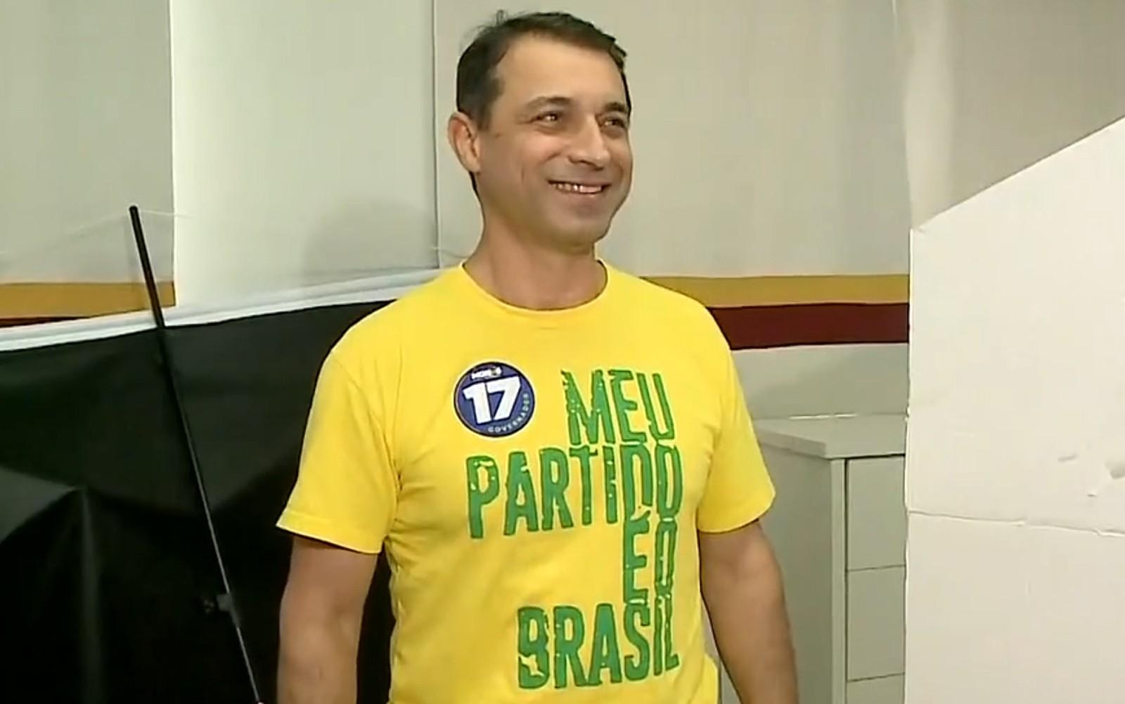 Comandante Moisés, do PSL, é eleito governador de Santa Catarina