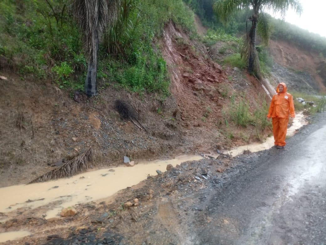 Comunidades de Alfredo Wagner são fortemente afetadas pela chuva
