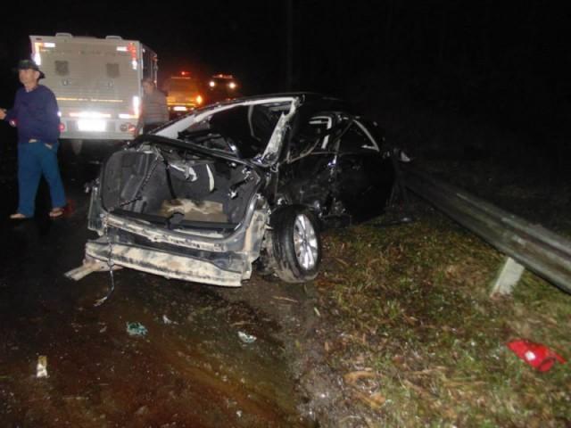 Homem de 26 anos morre em acidente de trânsito na BR-470 em Ibirama