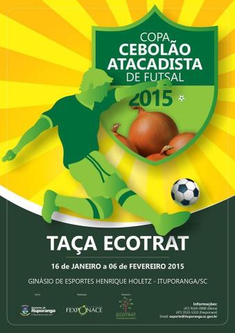 COPA CEBOLÃO – Congresso Técnico define chaves e categorias para o torneio de 2015
